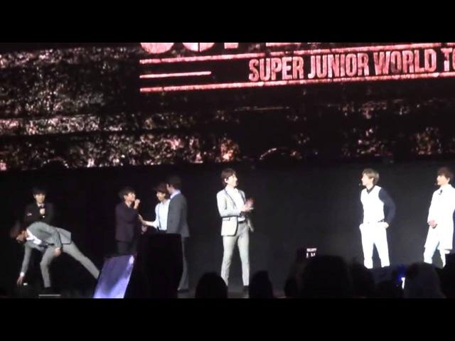 150207 Super Junior - Introduce Funny Talk (2) SuperShow6 in Shanghai [Fancam]
