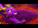Reverse TLoS - Spyro and Cynder Speedpaint