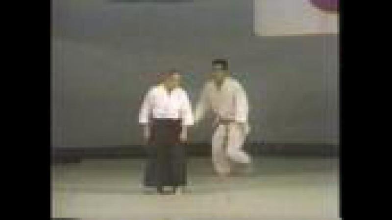 養神館合気道、aikido Shioda Gozo demonstration part1 1978-1981