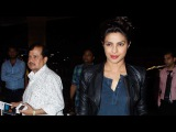 Snapped Priyanka Chopra Receives Special Gift At The Airport
