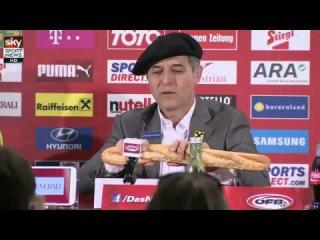 Marcel Koller macht sich über Frankreich lustig #beef