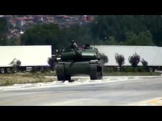 Новый Казахский танк Алтай проходит последние испытания под Алматы