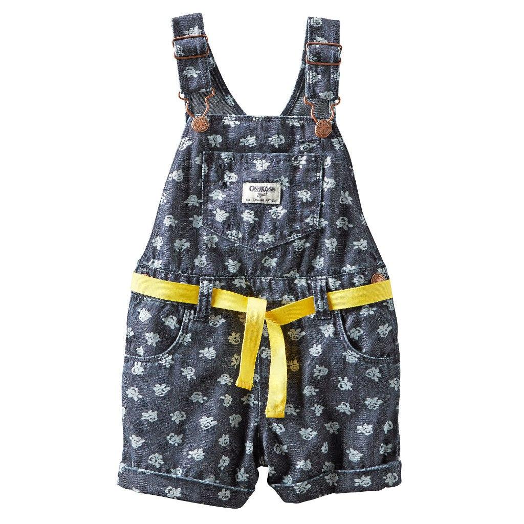 Комбинезон-шорты для девочки сшить