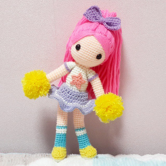 Hair For Amigurumi Doll : 1000+ images about Amigurumi: Doll Hair on Pinterest ...