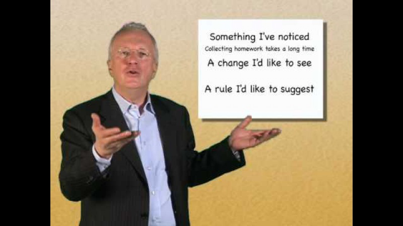How to Involve Students in Setting Up Their Own Ground Rules Herbert Puchta (