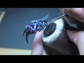 How to Paint Tyranid Hormagaunt in classic Space Hulk colors
