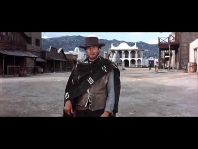 Get three coffins ready - A Fistful of Dollars 1964 (full scene)