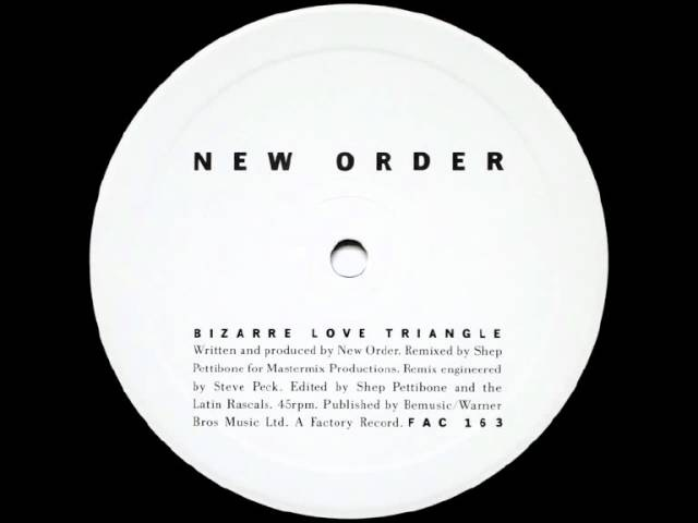 New Order Bizarre Love Triangle Video 83