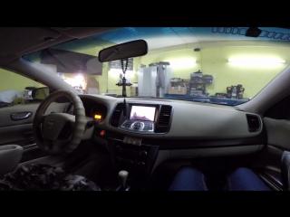 Nissan Teana 2009 организация USB и подключение DVB-T2 тюнера на ШГУ