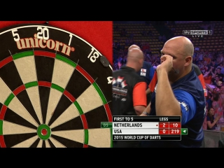 Netherlands vs United States (PDC World Cup of Darts 2015 / First Round)
