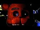 Скримеры аниматроников с криком из трейлера (Five nights at Freddy's 4)