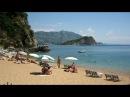Mogren Beach, Budva, Montenegro - March 2014.