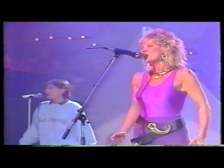 Peter's pop show 1985- Mike Oldfield Anita Hegerland(Pictures in the dark)