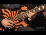 Zakk Wylde rips amazing guitar solo over Andy James track, EMGtv