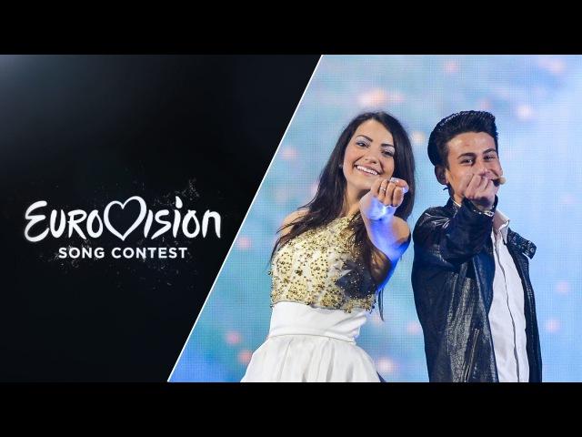Anita Simoncini Michele Perniola - Chain of Lights (San Marino) - LIVE - Eurovision 2015: sf2