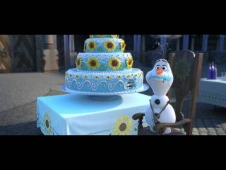 Холодное торжество / Frozen Fever (2015) - Трейлер / Official Trailer (HD)