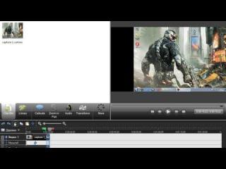 Как обрезать видео с помошчю программы Camtasio Studio. Выпуск 1