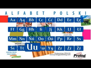 Alfabet polski / Polish Alphabet pronunciation / PROLOG Publishing