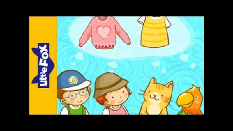 Do You Have a T shirt Learn English for Kids Song by Little Fox