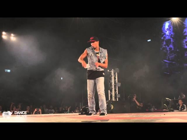 SALAH (FR) vs KANNON (US) Final Freestyle DANCE@LIVE World Cup 2014