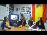 Las chicas rusas: Clase de español. Parte 2. Musica latinoamericana.