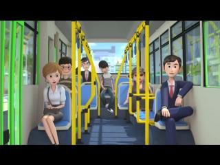 Приключения Тайо, 4 серия - Добрые друзья, мультики для детей про автобусы и машинки