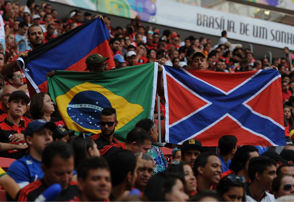Флаги Новороссии в Бразилии