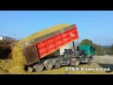 Tatra Phoenix + vlek MEGA - John Deere 7380 ProDrive SOLÁRNÍ PANELY - KUKUŘICE