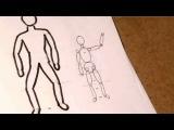 Как нарисовать фигуру человека