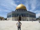 Domo de la Roca lugar donde Mahoma subió a los cielos y Emplanada de Mezquitas