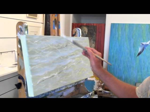 How to Paint Water - Refraction | Over The Shoulder with Mark Waller