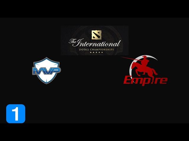 Highlights MVP Phoenix vs Team Empire - The International 2015