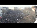 Direct de la place de la République pour la marche republicaine