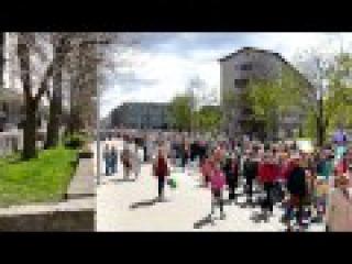 70-летие Великой Победы в Нарве (Эстония)