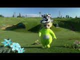 The Teletubbies perform I Fink U Freeky by Die Antwoord