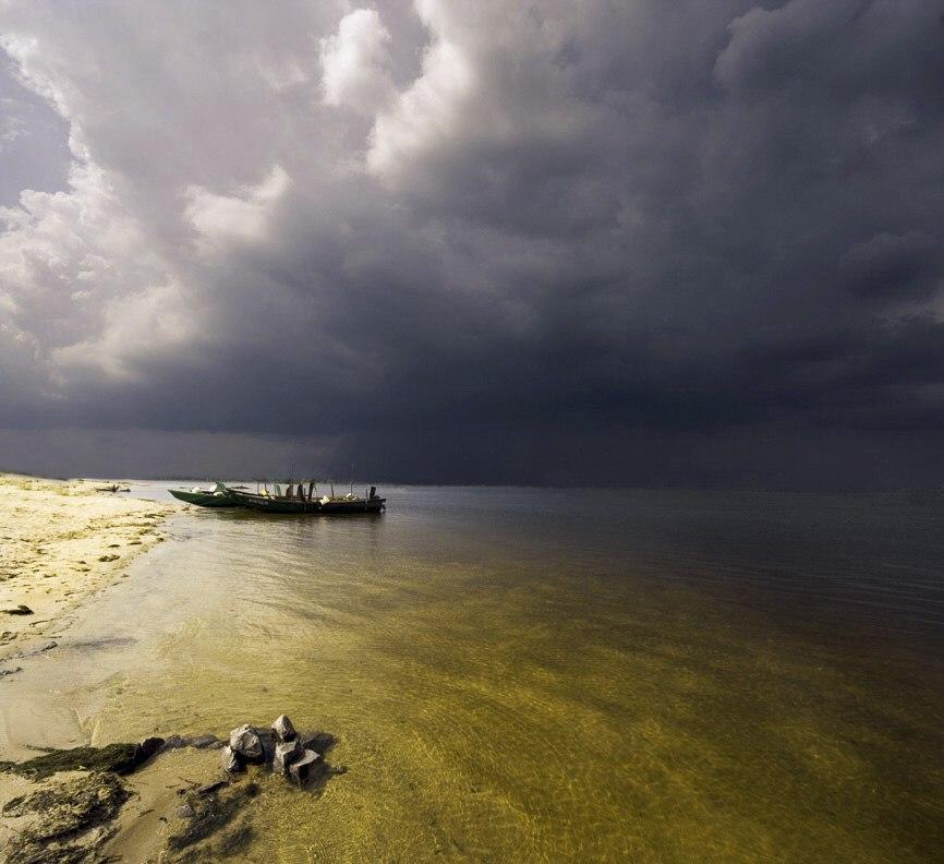 Рыбаки Азовского моря