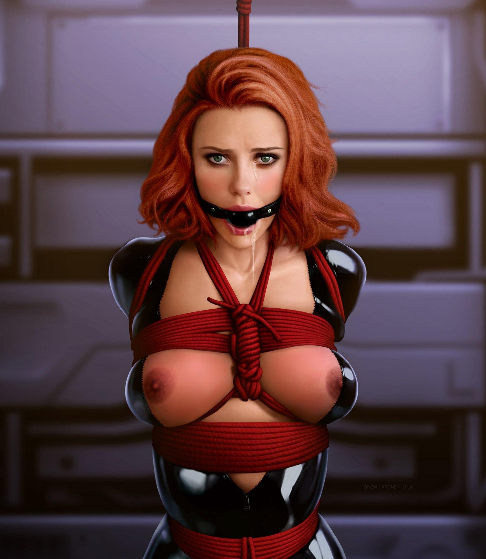 Black widow superhero naked adult tube