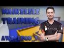 CS:GO - Team Kinguin Maikelele training on awp_lego_2