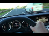 Mercedes E63 AMG Onboard Acceleration Autobahn 250 kmh Drive + Kickdown W212 2014 4 Matic S