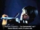 "David Garrett (14 years old): ""La Campanella"" op.7 - Paganini"