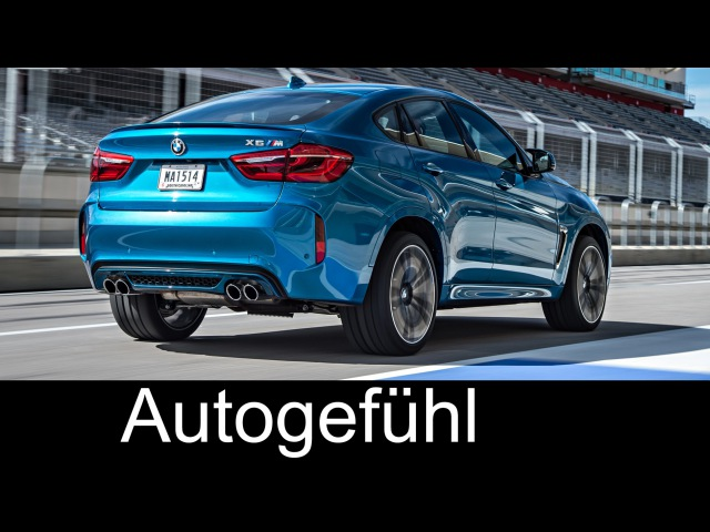 2015 2016 Neuer BMW X6 M Interview DEUTSCH Rennstrecke Sound Exterieur Interieur Autogefühl