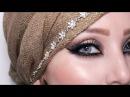 Bronze and Gold Eid Makeup Look 3 |by fatihasWORLD