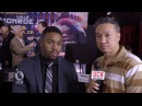 Willie Monroe Jr. Interview at Golovkin-Monroe Presser - UCN Exclusive