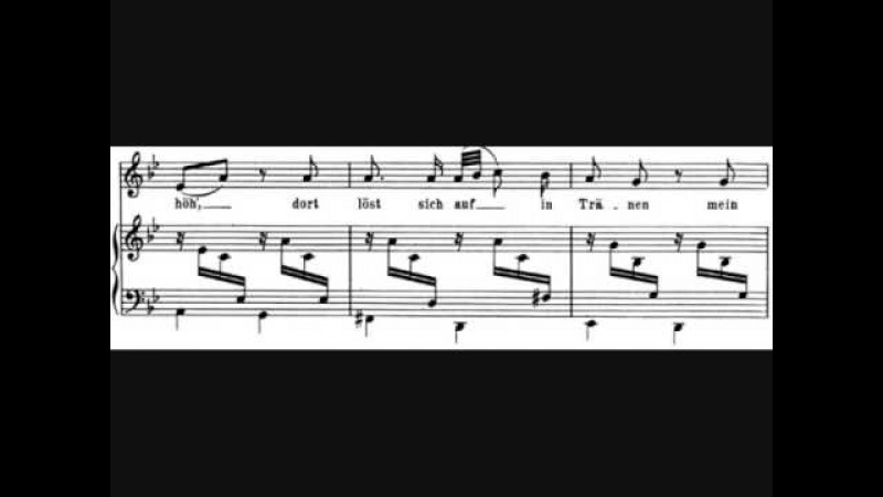 Robert Schumann- Hör' ich das Liedchen klingen (nach Heine)