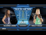 Fight of the Week Holly Holm With a Brutal Head Kick KO at Legacy 21