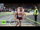 Finland Finnish couple win 2014 World Wife Carrying Championships