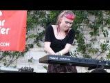 Grimes - Oblivion LIVE HD (2012) Make Music Pasadena Festival
