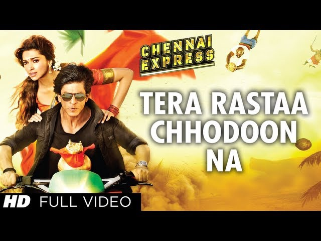 Tera Rastaa Chhodoon Na| Chennai Express | Shahrukh Khan | Deepika Padukone