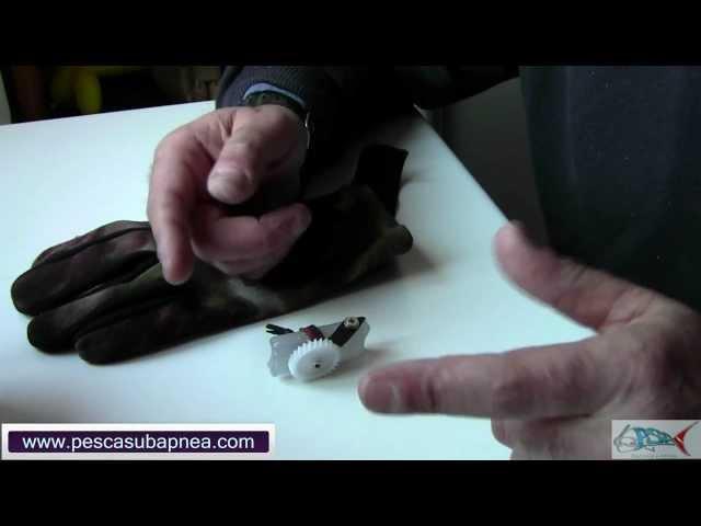 Pesca in apnea : Richiamo pesci portatile - 1° Video Fai da Te - Claudio Basili