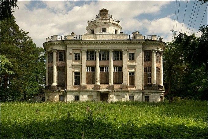Заброшенные места в ленинградской области